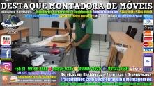 Montador de Móveis Olinda, Jaboatão, Recife, Camaragibe, Cabo, Paulista, Moreno, WhatsApp +55 (81) 99999-8025 - DESTAQUE MONTADORA - 203