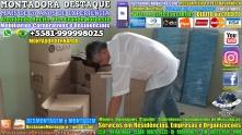 Montador de Móveis Recife Corporativos e Residenciais WhatsApp 55 81 99999-8025 - 000013