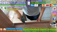 Montador de Móveis Recife Corporativos e Residenciais WhatsApp 55 81 99999-8025 - 000024