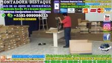 Montador de Móveis Recife Corporativos e Residenciais WhatsApp 55 81 99999-8025 - 000114