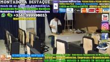 Montador de Móveis Recife Corporativos e Residenciais WhatsApp 55 81 99999-8025 - 000130