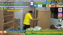 Montador de Móveis Recife Corporativos e Residenciais WhatsApp 55 81 99999-8025 - 000184